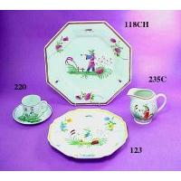 Chinoiserie Designs on Dinner Set